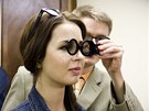K měření zrakových vad budou odborníci používat různé pomůcky