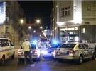 Na náměstí I. P. Pavlova se ve čtvrtek večer srazilo osobní auto s policejním