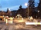 Masivní únik plynu v ulici Jeremenkova v Praze 4 (11. dubna 2013)