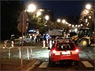 V ulici Jeremenkova v Praze 4 došlo k masivnímu úniku plynu.