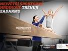 Vizuál kampaně Česko sportuje
