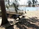 Policisté by na lince 158 uvítali i svědectví lidí, kteří se kolem rybníka...