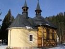 kostel Nejsvětější trojice V Klášterské Lhotě po rekonstrukci