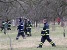 Do pátrání se zapojila také řada profesionálních a dobrovolných hasičů.