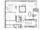 Půdní vestavba 1 (viz video) řešila dva téměř shodné mezonetové byty, jen