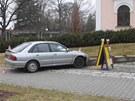 Řidič pod vlivem drog se pokusil v Šumperku ujet hlídce strážníků. Nezvládl ale