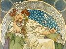 Muchův plakát k pantomimě Princezna Hyacinta