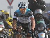 PEKLO SEVERU. Cyklista Zdeněk Štybar bojoval ve slavné klasice Paříž-Roubaix o