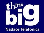 Logo Think Big, nadace spole�nosti Telef�nica O2