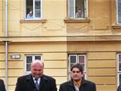 Slavnostní zahájení výstavby nového pavilonu bylo pro pacienty opavské Slezské