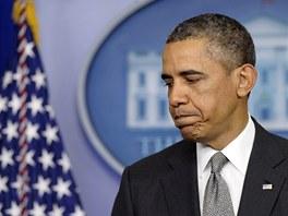 Americký prezident Barack Obama promluvil k útokům v Bostonu (16. dubna 2013)