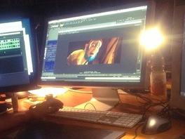 Z příprav 3D filmu Poslední dukát