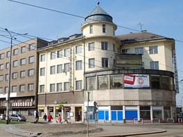 Současná podoba Hotelu Palace v centru Ostravy.