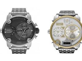 Ukázka hodinek, které v Ostravě-Mariánských Horách ukradli dva maskovaní