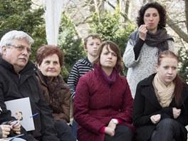 Na neformálním setkání na terase Střediska volného času v Lužánkách sdíleli