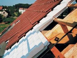 Skladbu tzv. teplé střechy u nás představují dílce Thermodach z tvrzeného