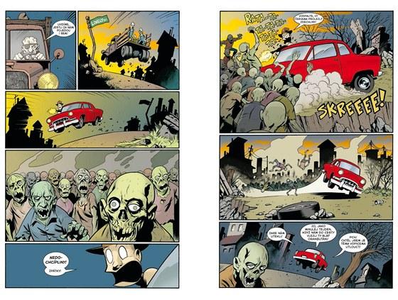 Ukázka z komiksu Goon 2 Mé vražedné dětství
