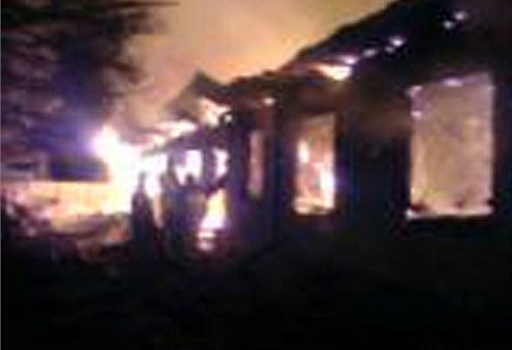 Desítky obětí na životech si vyžádal páteční požár v psychiatrické léčebně ve