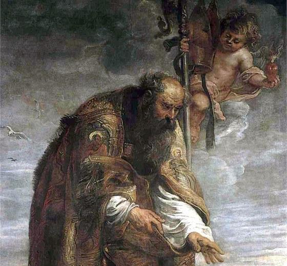 Peter Paul Rubens: Sv. Augustin (1638)
