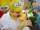 Královna majálesu v Plzni Marge Skáče Simpsonová (26. dubna 2013)