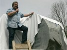 Slavnostní řeč pronesl Richard Hašek, vnuk slavného spisovatele.