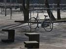 Všechny školy v nizozemském Leidenu zely v pondělí prázdnotou (22. dubna 2013)