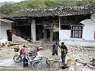 Otřesy cítili obyvatelé v okolních provinciích i v provinční metropoli