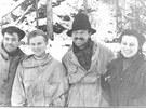 Nicolas Thibeaux-Brignolle, Ludmila Dubininová, Semen Zolotarjov a Zina...
