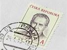 Česká pošta začala prodávat známky s portrétem prezidenta Miloše Zemana. (24.