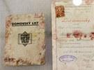 V rodném domě Jana Kubiše v Dolních Vilémovicích se nalezly také domovské listy.