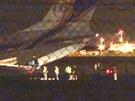 Letadlo přiletělo ve čtvrtek z Ruska s jaderným palivem pro ÚJV Řež. Nakládaní