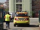 K mrtvole nalezené v elektrárně při bagrování nánosu z říční stěny přijeli
