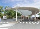 Vizualizace náchodského autobusového nádraží
