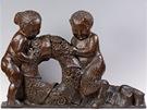 Michael Powolny, Satyr a dívka, 1914-15