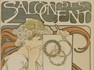 Alfons Mucha, Salon des Cent, 1897