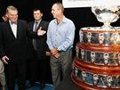 Ivan Lendl, prim�tor Bohuslav Svoboda a Davis Cup