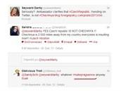 Uživatel twitteru vyhrožuje Praze kvůli Bostonu jadernou bombou.
