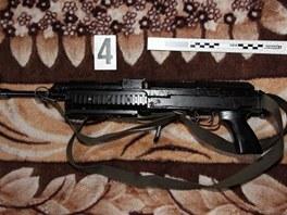 """Při policejní akci """"Lafeta"""" zajistili kriminalisté také střelné zbraně"""