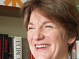 Historička Mary Heimannová. Narodila roku 1962 v nizozemském Haagu. Přednáší