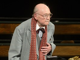 Lubomír Lipský oslavil 19. dubna 2013 devadesáté narozeniny v Divadle ABC.