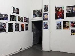 The Martha Cooper Files (z instalace výstavy v pražské galerii Trafačka)