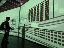 Při vstupu do baťovské expozice přivítá návštěvníky film o historii Zlína.