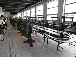Tak vypadala u Bati linka na výrobu bot.
