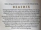 Abdikační listiny nizozemské královny Beatrix (30. dubna 2013)