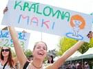 Na majálesovém open air festivalu v Hradci se vyhlašoval i král (královna)