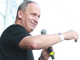 Hradecký majáles uváděli herec Jan Kraus (na snímku). Druhým průvodcem
