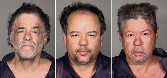 Muži podezřelý u únosu tří dívek v Clevelandu. Onil Castro, Ariel Castro a
