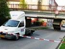 Nehoda dodávky v Opavě (4. května 2013)