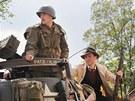 Convoy of Liberty - kolona vojenských historických vozidel na Klatovské třídě v