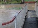 Bleskové povodně ve Studénce (8. května 2013)